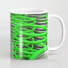 Plastic and metal springs and coils Coffee Mug