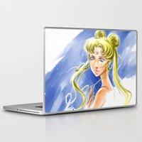 sailormoon Laptop & iPad Skins featuring Princess Serenity by Keith Gutierrez