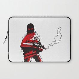 Death wears a track suit Laptop Sleeve