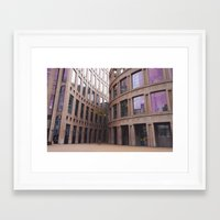 gotham Framed Art Prints featuring gotham by CouveCollective