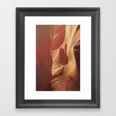 Antelope Canyon 2 Framed Art Print