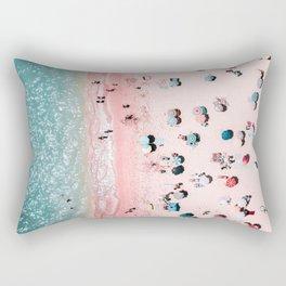 Ocean Print, Beach Print, Wall Decor, Aerial Beach Print, Beach Photography, Bondi Beach Print Rectangular Pillow