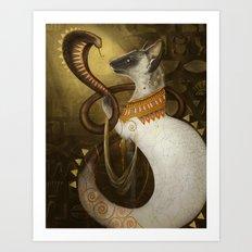 Cleocatra Art Print