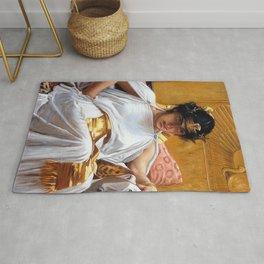 Cleopatra - John William Waterhouse Rug