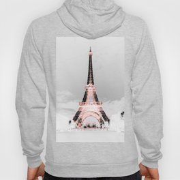 pariS Black & White + Pink Hoody