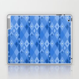 Blue Lily Bear Laptop & iPad Skin