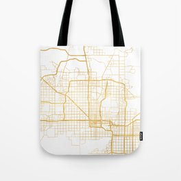 PHOENIX ARIZONA CITY STREET MAP ART Tote Bag