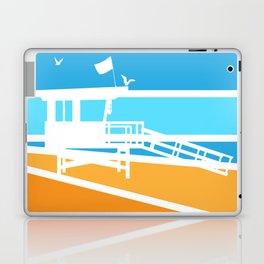 Lifeguard Tower - Retro Laptop & iPad Skin