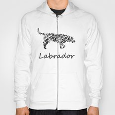 Labrador Scribble Hoody