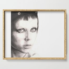 edie campbell... Serving Tray