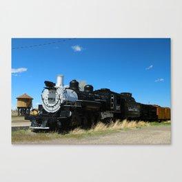 Denver & Rio Grande Steam Engine Canvas Print
