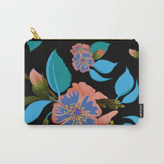 tas.color flower pattern Carry-All Pouch