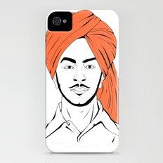 Bhagat Singh #IpledgeOrange Slim Case iPhone (4, 4s)