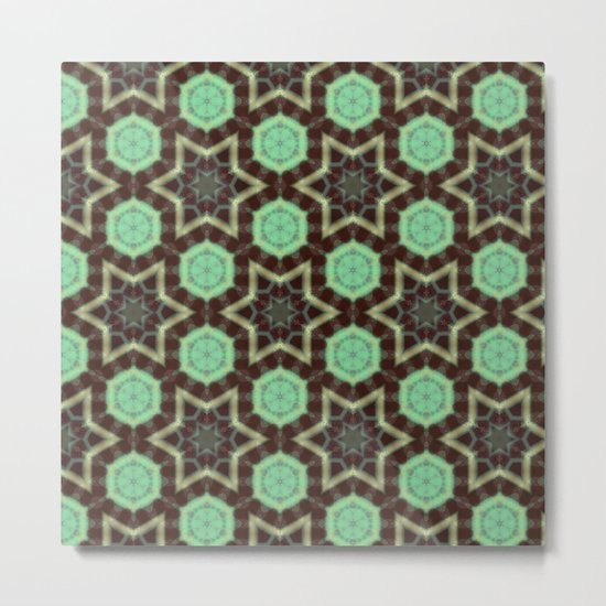 Mint Chocolate Metal Print
