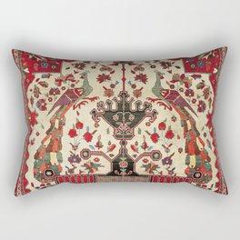 Farahan Arak Antique Persian Rug Print Rectangular Pillow