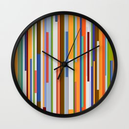 Abstract Composition 609 Wall Clock