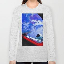 Tesla's Starman Long Sleeve T-shirt