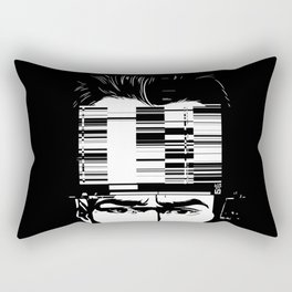 mnemonic_data_glitch_ Rectangular Pillow
