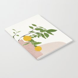 Lemon Branches Notebook