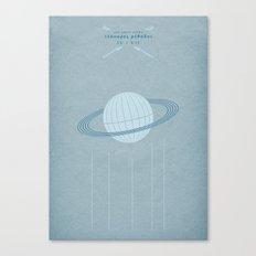 Ast Colit Astra   QUADRIVIUM - MINIMALIST POSTER Canvas Print