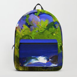 George Bellows Monhegan Island Backpack