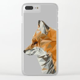 Fox's View Clear iPhone Case