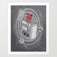 The Mystic Seer Art Print