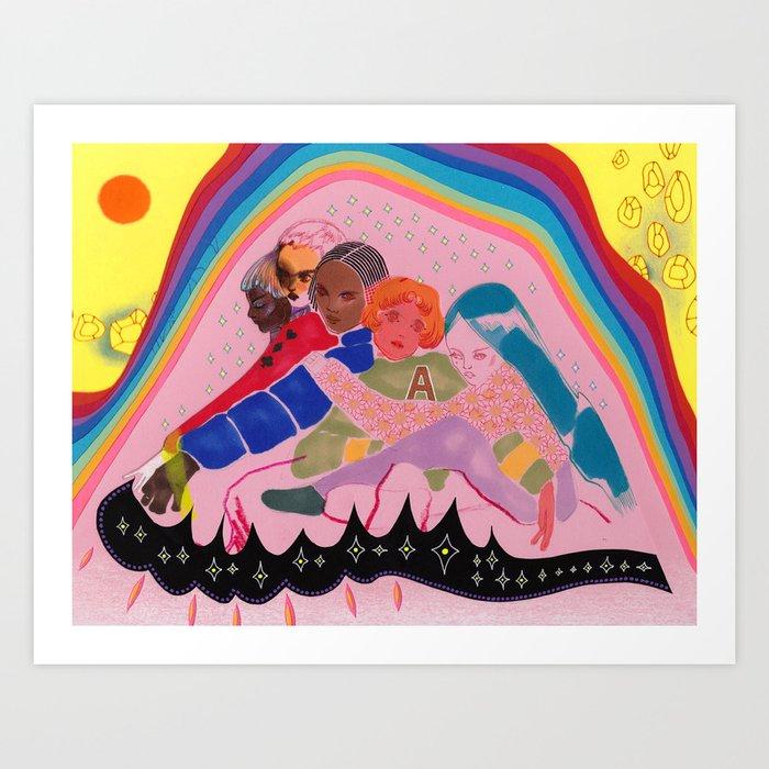 Mysteries of Love Art Print