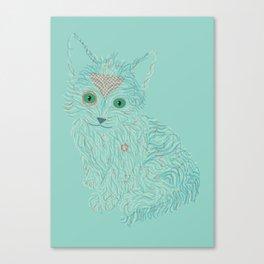 a little cat Canvas Print