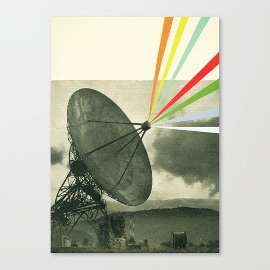 Earth Calling Canvas Print