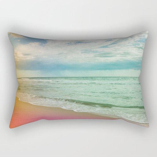 Beach in Colours Rectangular Pillow