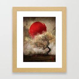 Iroha Framed Art Print
