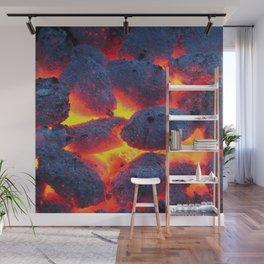 Hot Coals Wall Mural