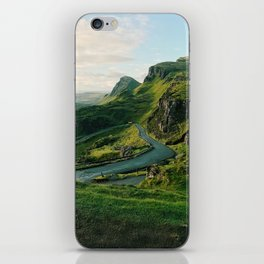 The Quiraing in Isle of Skye, Scotland iPhone Skin