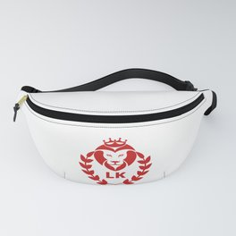 Lion Boss Beast Legend Number One Hero For The Kings Fanny Pack