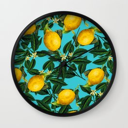 LEMON PATTERN-04 Wall Clock