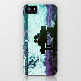 Love is here iPhone Case