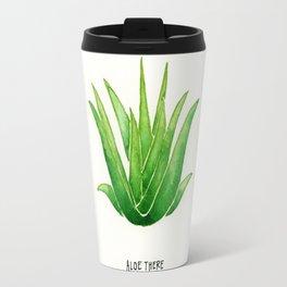 Succulent Greetings Travel Mug