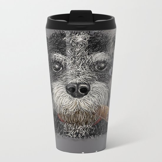 Fidel - The Havanese is the national dog of Cuba Metal Travel Mug