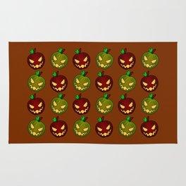 Bad Apples (Brown) Rug