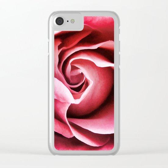 A Rose Clear iPhone Case