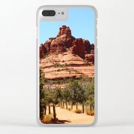 Bell Rock Sedona Clear iPhone Case