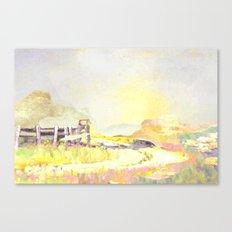 pastel spring Canvas Print