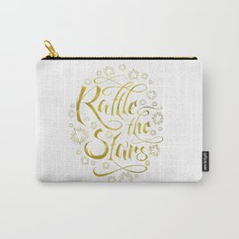 Rattle the Stars (White) Carry-All Pouch
