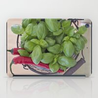 spice iPad Cases featuring Spice by Skye Cascadea