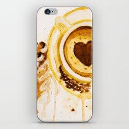 Caffee and cake iPhone Skin