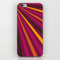 1d iPhone & iPod Skins featuring Rays 1d by Patterns of Life