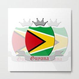 Guyana Metal Print