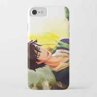percy jackson iPhone & iPod Cases featuring Percy Jackson in Hogwarts by TreyCain03