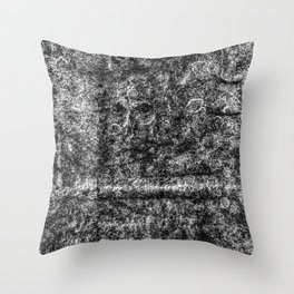 Ancient  Skull Throw Pillow